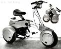 Иж Складной трицикл-мопед_2